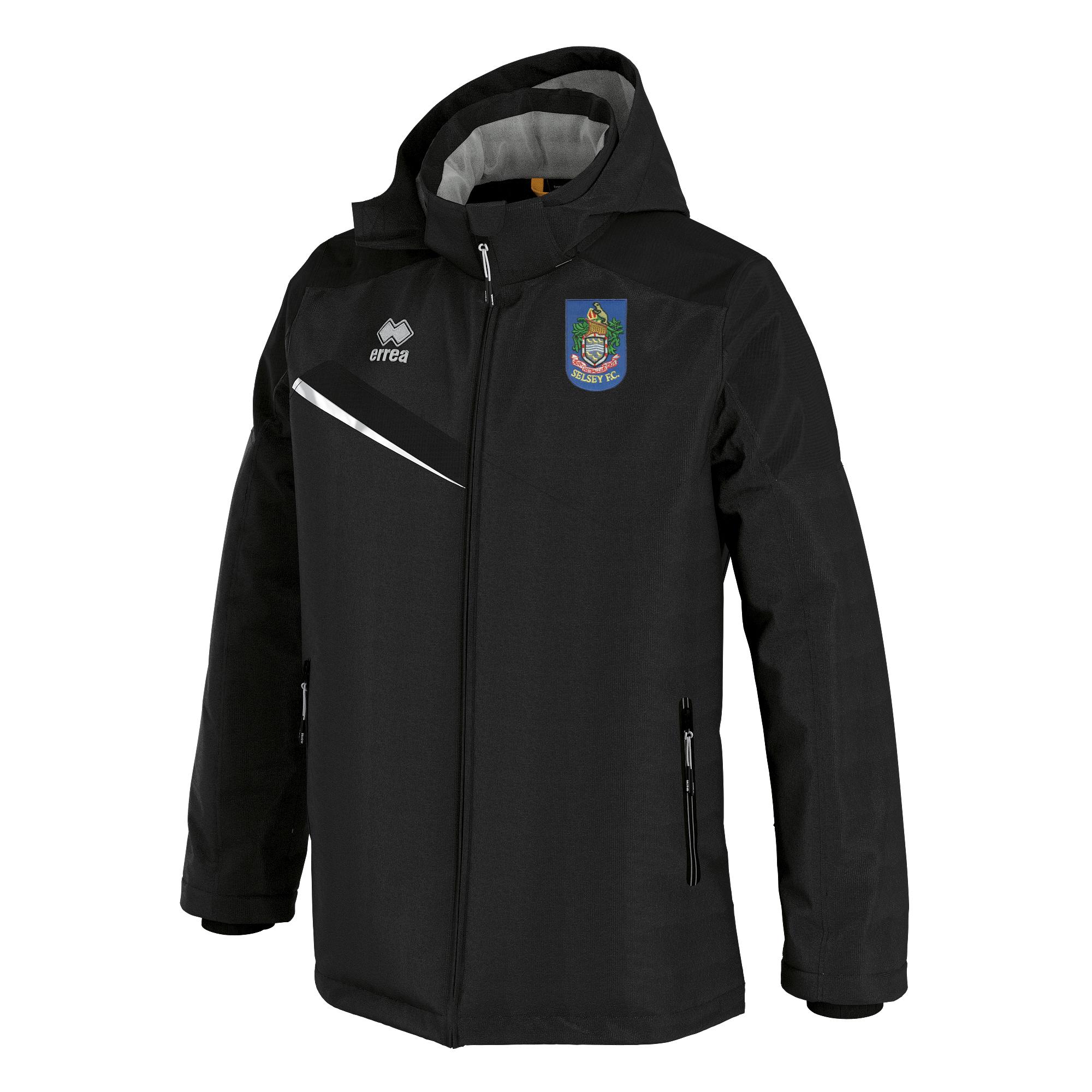 Selsey FC Errea Iceland 3 Winter Jacket Black