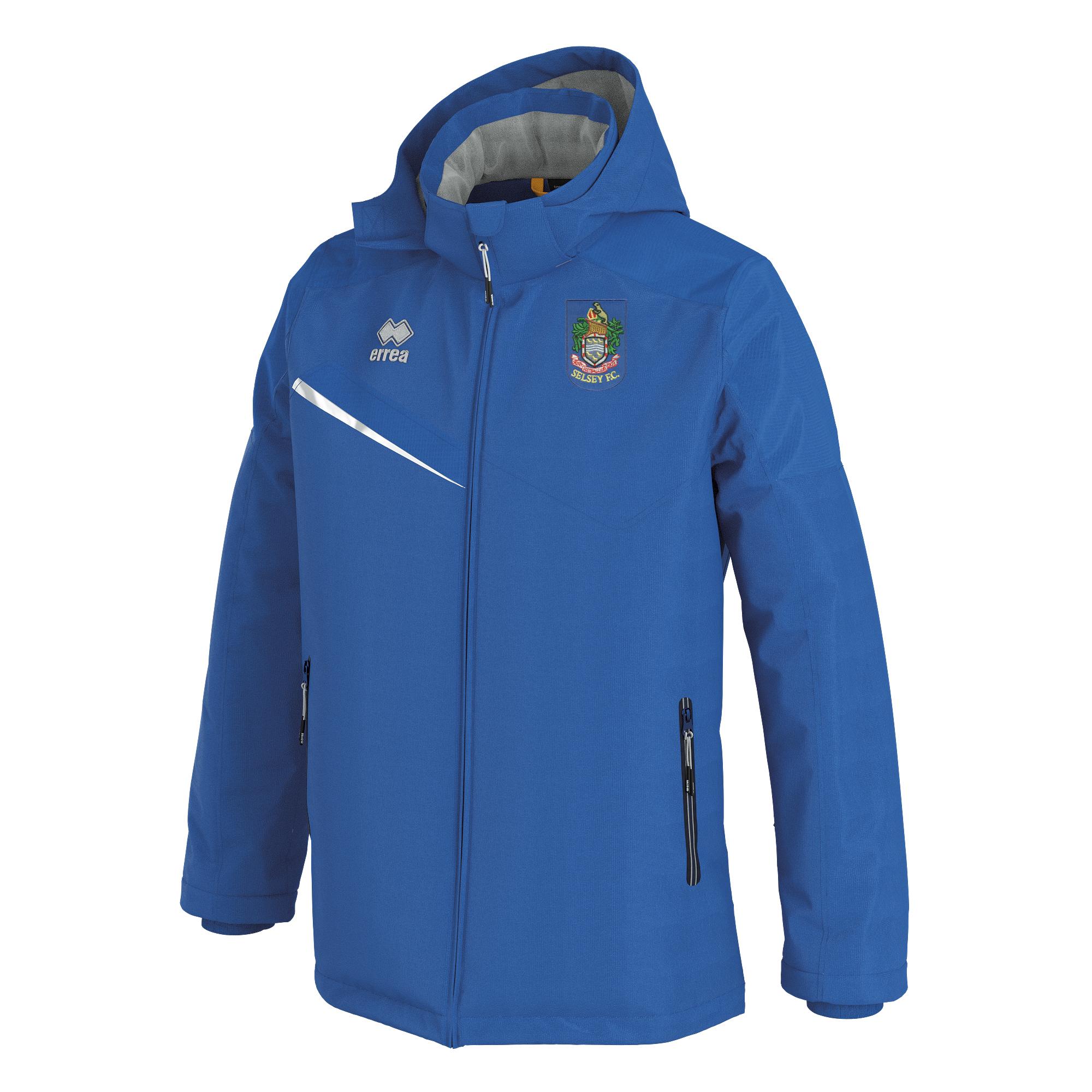 Selsey FC Errea Iceland 3 Winter Jacket Blue
