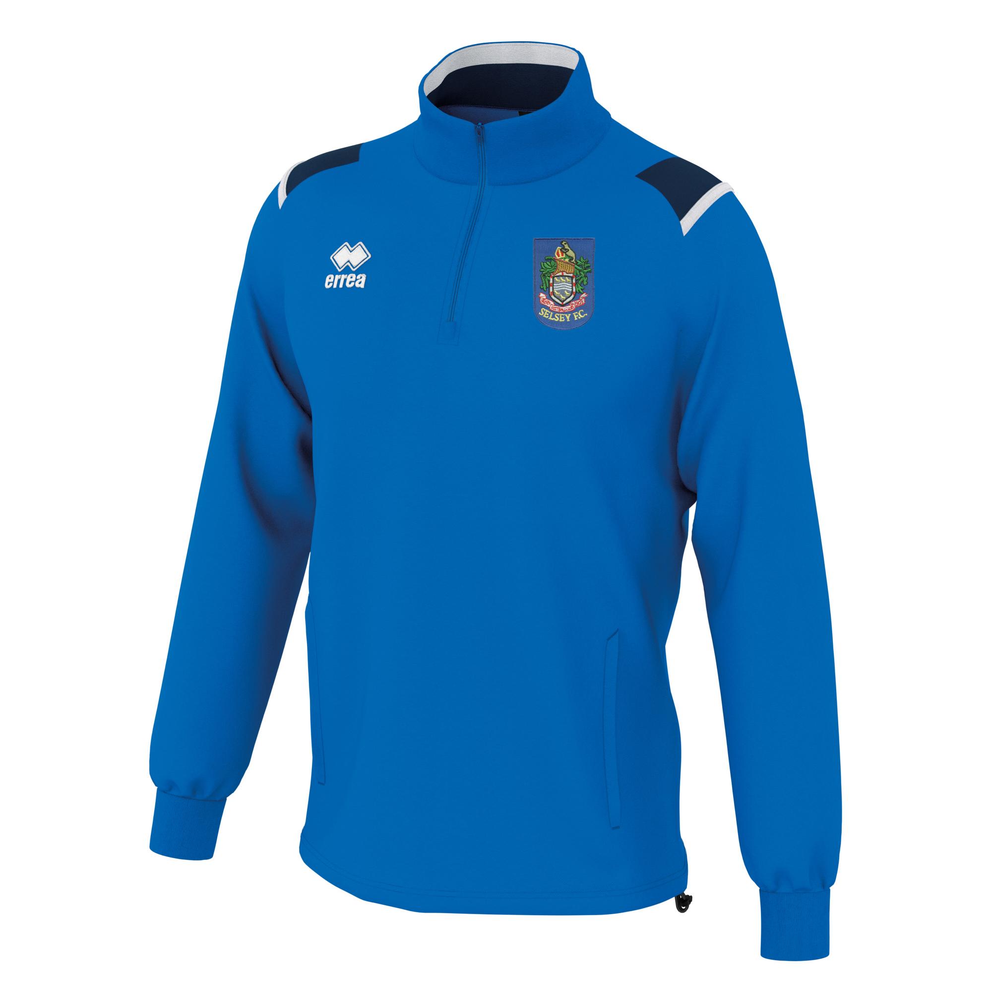 Selsey FC Errea Lars Training Top Blue Navy White