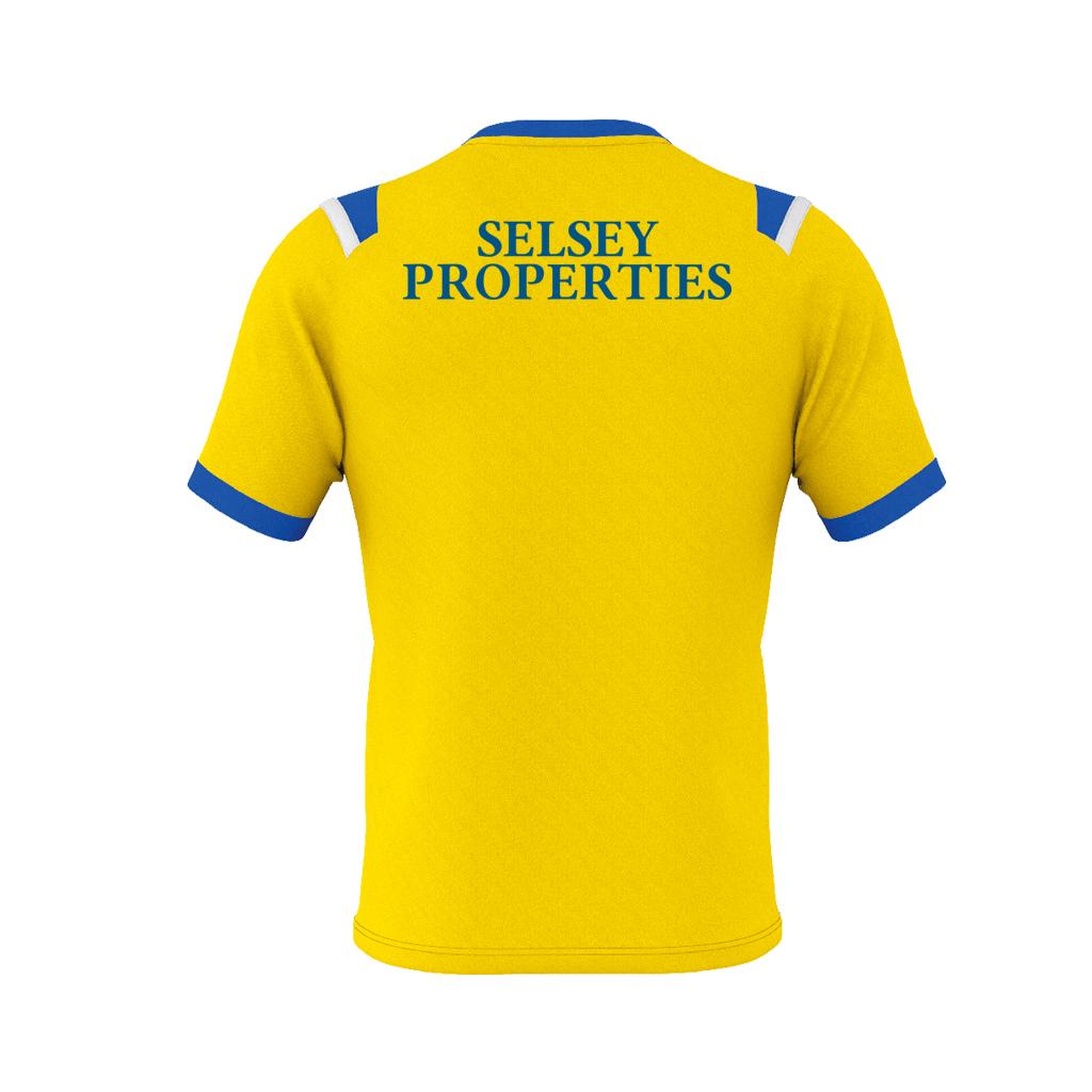 Errea Lucas Shirt Rear Yellow Blue White 1