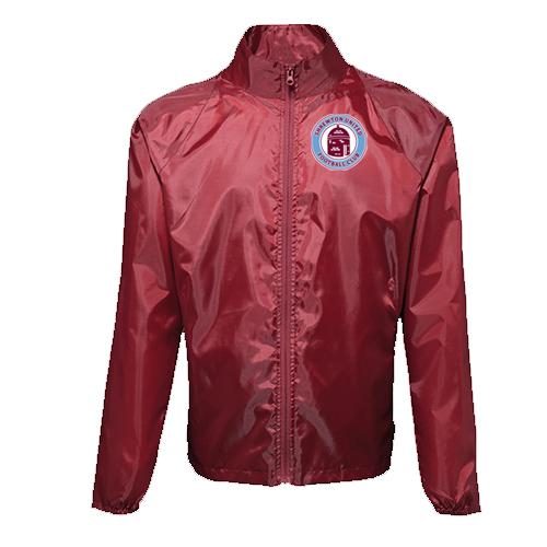 Shrewton United 2768 Lightweight Jacket Burgundy